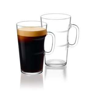 Nespresso Glass Mugs - Set of 2